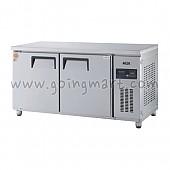 고급형 직냉식 냉테이블1500(5자) GWM-150RFT 냉동 191ℓ 냉장 191ℓ