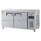 고급형 간냉식 냉테이블1500(5자) GWFM-150RT 냉장 364ℓ