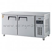 고급형 간냉식 냉테이블1500(5자) GWFM-150FT 냉동 364ℓ