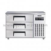 높은서랍식냉테이블 1200(4자) CWSM-120HDT 냉장 270ℓ