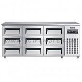 높은서랍식냉테이블 1800(6자) CWSM-180HDT 냉장 485ℓ
