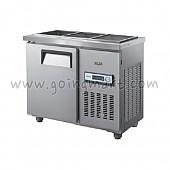 찬밧드 테이블 냉장고 슬림 900 냉장 71L GWS-090RB(D5)