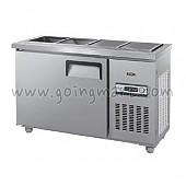 찬밧드 테이블 냉장고 슬림 1200 냉장 128L GWS-120RB(D5)