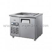찬밧드 테이블 냉장고 900 냉장 105L GWS-090RB