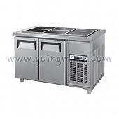찬밧드 테이블 냉장고 1200 냉장 190L GWS-120RB