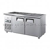 찬밧드 테이블 냉장고 1500 냉장 275L GWS-150RB
