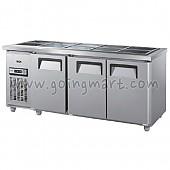 찬밧드 테이블 냉장고 1800 냉장 360L GWS-180RB(3D)