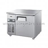 테이블 냉장고 냉동고 900 냉장 냉동 153L GWS-090RT GWS-090FT