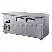테이블 냉장고 냉동고 1500 냉장 냉동 370L GWS-150RT GWS-150FT