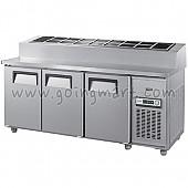 토핑 테이블 냉장고 1800 냉장 475L GWS-180RBT(15)